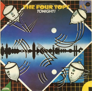 Four Tops ‎- Tonight! (LP) (G/G-)